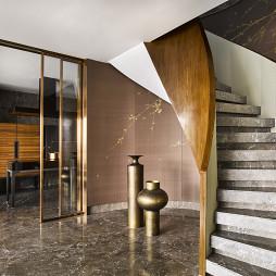 嘉御庭顶层样板间楼梯设计