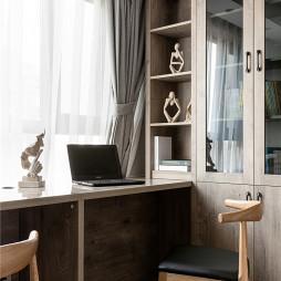 简单北欧风书房设计