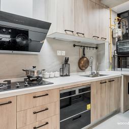 清新系现代厨房橱柜设计