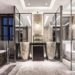 西安华海别墅卫浴实景图片