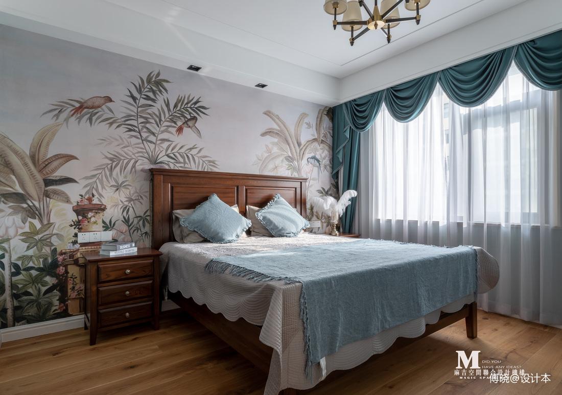复古美式卧室设计图片