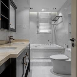 复古美式卫浴设计图片