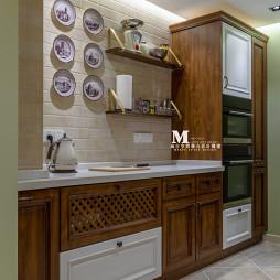 复古美式厨房设计图