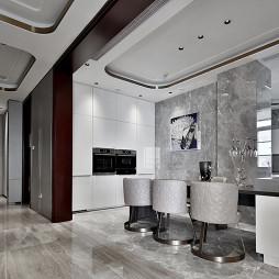 580㎡超大江景房厨房设计