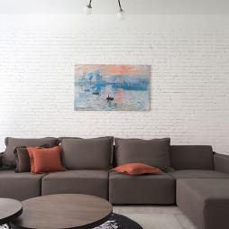 新民居复式客厅客厅沙发设计
