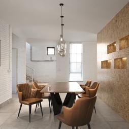 新民居复式客厅餐厅设计图