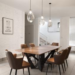 新民居复式客厅餐厅吊灯图片