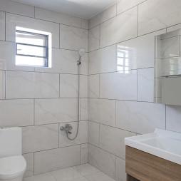 新民居复式客厅卫浴设计
