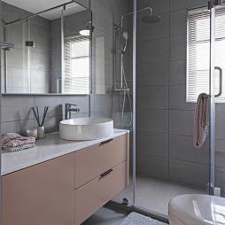 质朴现代风卫浴洗手台设计图片
