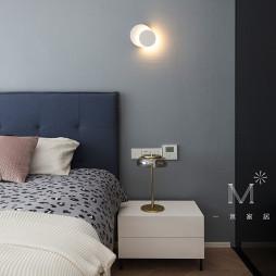 130㎡现代北欧卧室设计图