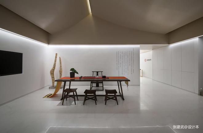 御森燕展示空间餐厅实景图片