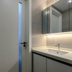 80后北欧风卫浴洗手台设计