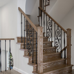 独墅苑美式楼梯设计图