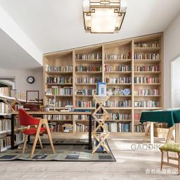 复式书房设计图片