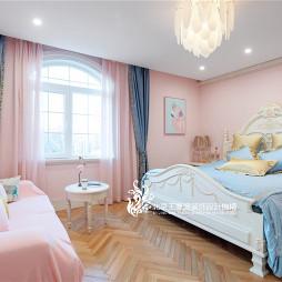 法式浪漫别墅儿童房设计