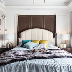 简奢美式主卧室设计图片
