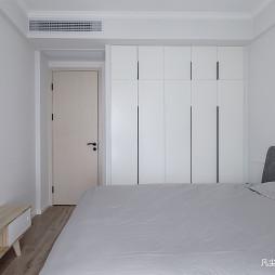 简单北欧风卧室衣柜设计图