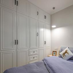 清新小北欧卧室衣柜设计