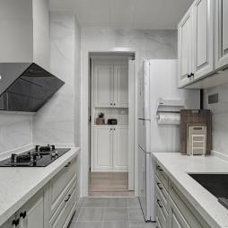 浪漫现代厨房实景图片