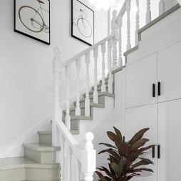 现代风复式楼梯设计