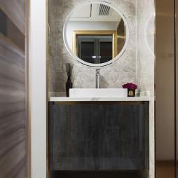 优雅现代风洗手台设计