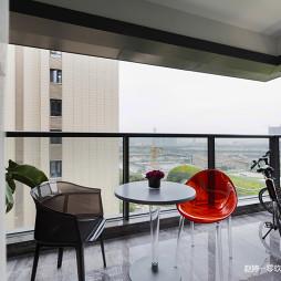优雅现代风阳台设计