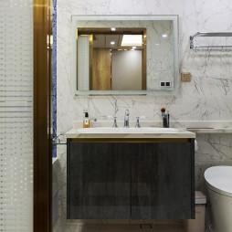 优雅现代风卫浴洗手台设计