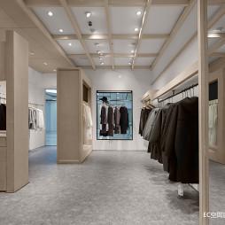初•白 服装店铺设计图片