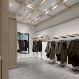 初•白 服装店铺实景图