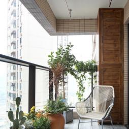 平和简约风阳台设计
