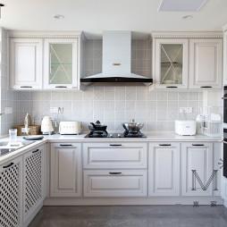 130㎡低奢美式厨房设计图