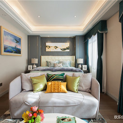 轻奢欧式主卧室设计