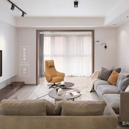 「留白」现代客厅沙发图片