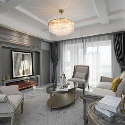 优雅浪漫客厅实景设计
