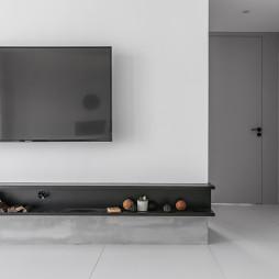 『源玺』现代风电视背景墙设计图