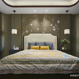 600㎡ 新中式别墅卧室设计