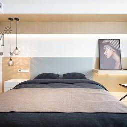 180㎡现代简约卧室吊灯图
