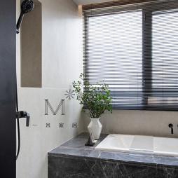 180㎡现代简约卫浴设计