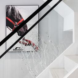 简单现代风复式楼梯设计图