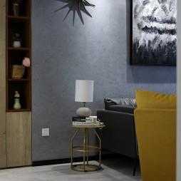 静谧现代风客厅装饰图片