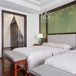 锦绣中式卧室设计图