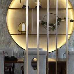 1000㎡展销厅茶台设计图