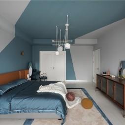 Color Shape复式混搭风卧室设计