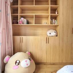 诗意日式风儿童房储物柜设计