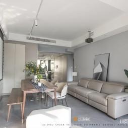 简约复式客厅沙发图片