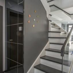 简约复式楼梯间设计图