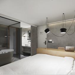 尖微外滩酒店客房设计实景图片