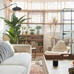 75㎡自然混搭客厅设计