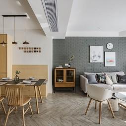 『SWEET HOME』北欧风客厅餐厅设计图