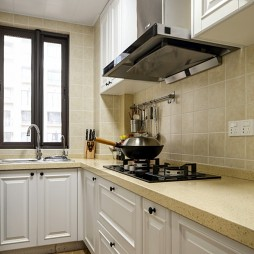 简单美式风厨房设计图
